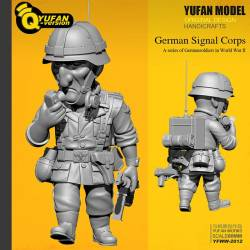 WWII German Signal Corps - Toon Q Version