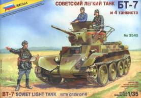 Soviet BT7 Light Tank
