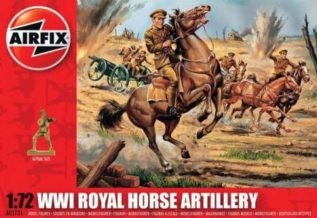 WWI Royal Horse Artillery - 2018 Reissue