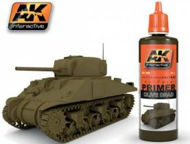 AK Olive Drab Acrylic Primer 60ml Bottle