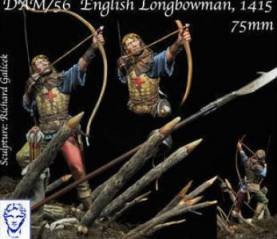 English Longbowman in Agincourt