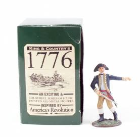 King & Country 1776 American Revolution Officer With Sword #AR01 NIB 1 Available OOP