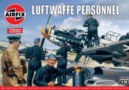 WWII Luftwaffe Personnel Figure Set - 2019 Reissue
