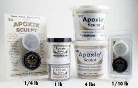 Apoxie Sculpt 1/4 lb. Red