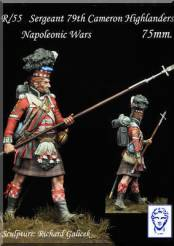 Sergeant of 79th Cameron Highlanders