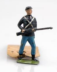 Britains Picture Pack Union Infantry On Guard 1252B