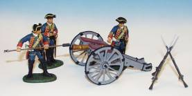 6 POUND BRITISH ARTILLERY FIRING #BGG1-1 AVAILABLE OOP