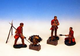 2 BRITISH COEHOM MORTARS AND CREW #BGG3-1 AVAILABLE OOP