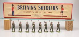 W Britains Set 2033 United States Army Infantry Service Dress With Original Box