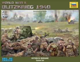 WWII Blitzkrieg 1940 an Art of Tactic Historical Wargame