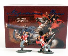 W Britains 17299 British Casualties- OOP 1 Available