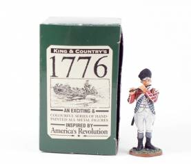 King & Country 1776 American Revolution British Fusilier Fifer #BR20 NIB 1 Available OOP