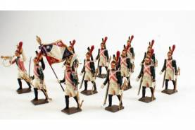 Mignot French Napoleonic Dragoons In March