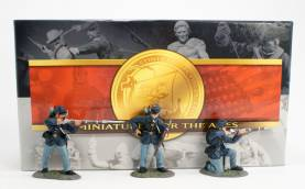 ACW Union Infantry Firing Line, Set No.1 #57100- OOP 1 Available
