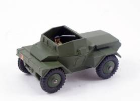 Dinky Toys Vintage 1950s Scout Car 673