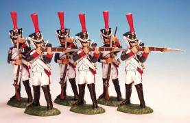 Fusilier Grenadiers Firing And Loading