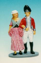 COLONIAL CLASSICS REDCOAT WAKING WITH WOMAN #CC2-1 AVAILABLE OOP