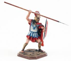Greek Spartan With Spear And Shield 3174