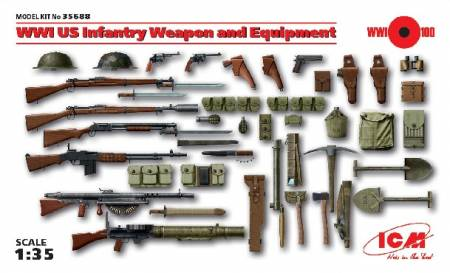 WWI US Infantry Weapon & Equipment