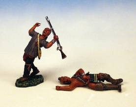 WOODLAND INDIANS WOUNDED #IW5-1 AVAILABLE OOP