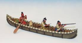 INDIANS IN CANOE FIRING #IWC1-1 Available OOP