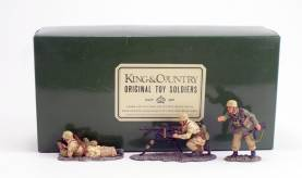 King & Country AK013 Africa Corps MG42 Set 1 Available OOP