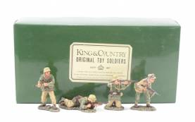 King & Country AK016 Africa Corps Attack 1 Available OOP