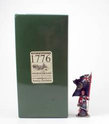 King & Country 1776 American Revolution Highlander Flag Bearer #BR29 NIB 1 Available OOP