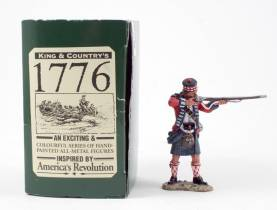 King & Country BR025 42nd Highlander Standing Firing 1 Available OOP