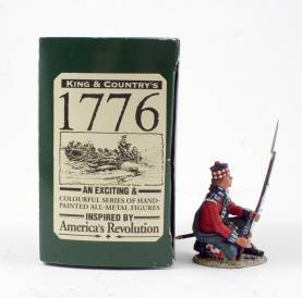 King & Country BR030 42nd Highlander Kneeling Ready 1 Available OOP