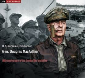 60th anniversary of the Korean War armistice U.N. supreme commander Gen. Douglas MacArthur