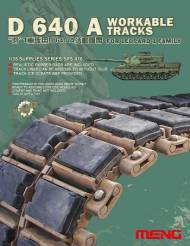 D640A Workable Tracks for Leopard 1 Family MBT