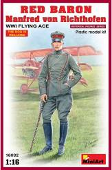 WW I German Flying Ace- Manfred von Richthofen - Red Baron - WWI Flying Ace