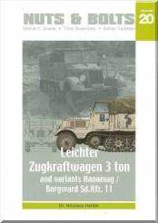 Nuts & Bolts Vol. 20- 3 Ton Half Track SdKfz 11