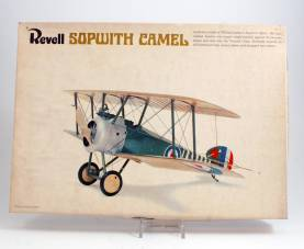 Revell #H291:150 WWI Sopwith Camel