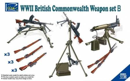 WWII British Commonwealth Weapon Set B