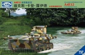 VCL A4E12 Late Light Amphibious Tank Central Troops National Revolutionary Army