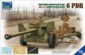 British Ordnance QF 6-Pdr. Mk IV Anti-Tank Gun on Mk 1A Carriage