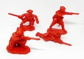 British Dismounted Dragoons in Red