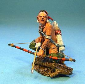 RAID ON ST FRANCIS 1759 - MOHAWK WARRIOR #RSF-06 - 1 AVAILABLE OOP