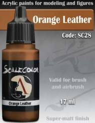 Orange Leather Paint 17ml
