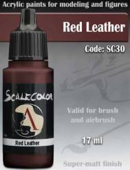 Red Leather Paint 17ml