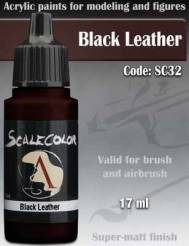 Black Leather Paint 17ml
