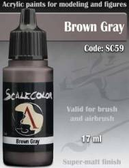 Brown Fray Paint 17ml