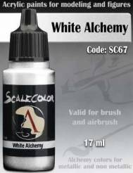 Metal N Alchemy- White Alchemy Paint 17ml