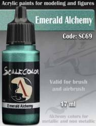 Metal N Alchemy- Emerald Alchemy Paint 17ml