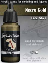 Metal N Alchemy- Necro Gold Paint 17ml