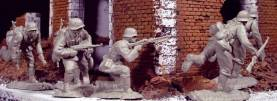 WWII German Infantry Set 2 #DDAY024- 1 Available