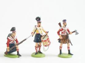 St. Georges Cross Napoleonic Highland Infantry