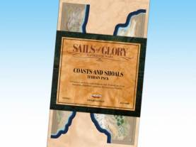 Sails of Glory - Terrain Pack: Coasts and Shoals